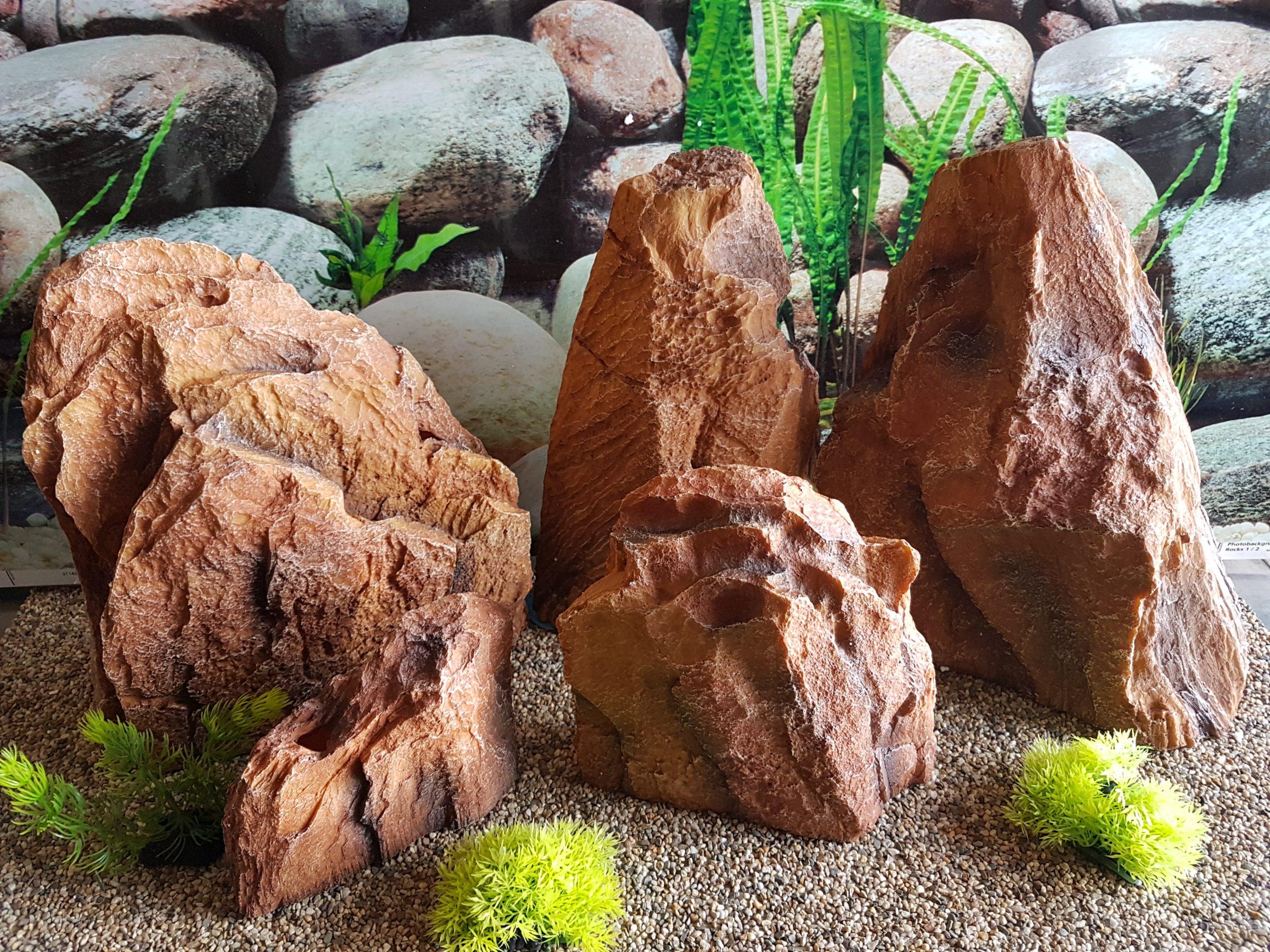 Assorted 5 pc Artifical Rock Aquascape Kit - United ...